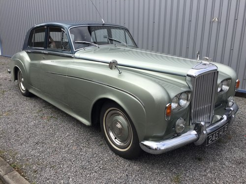 1964 Bentley S3 Saloon. For Sale (picture 1 of 3)