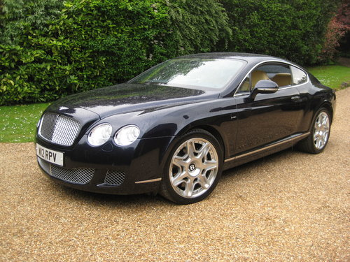 2010 Bentley Continental GT Mulliner With Just 10,000 Miles  For Sale (picture 2 of 6)