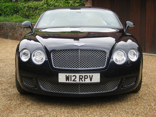 2010 Bentley Continental GT Mulliner With Just 10,000 Miles  For Sale (picture 6 of 6)