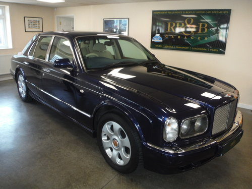 2002 Bentley Arnage Red Label For Sale (picture 1 of 6)