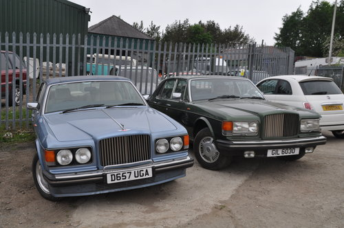 1987 CLASSIC BENTLEY TURBO R & 1981 MULSANNE SOLD (picture 1 of 6)