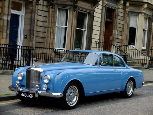 1961 BENTLEY S2 CONTINENTAL MULLINER 2 DR - CONCOURS RESTORATION  For Sale (picture 1 of 6)