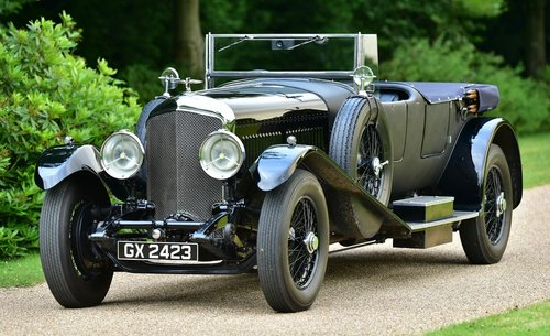 1931 Bentley 8 Litre Vandenplas Style Tourer For Sale (picture 1 of 6)