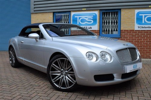 2007 Bentley Continental GTC Convertible W12 6.0i 550 SOLD (picture 1 of 6)