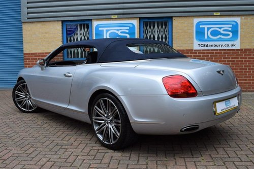 2007 Bentley Continental GTC Convertible W12 6.0i 550 SOLD (picture 2 of 6)
