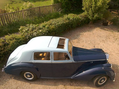 1954 Bentley R type automatic in two tone blue SOLD (picture 6 of 6)