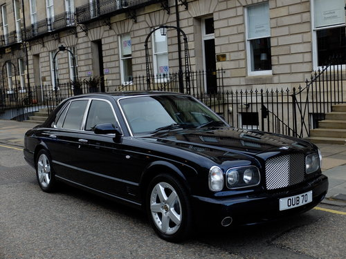 2004 BENTLEY ARNAGE T - SUNROOF - 55K MILES - STUNNING EXAMPLE ! For Sale (picture 2 of 6)