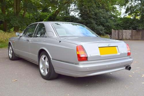 1998 S Bentley Continental R Chatsworth Limited Edition For Sale (picture 5 of 6)