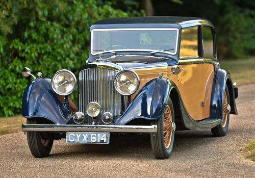 1936 Bentley 4¼-Litre Sports Saloon by Freestone & Webb For Sale (picture 1 of 6)
