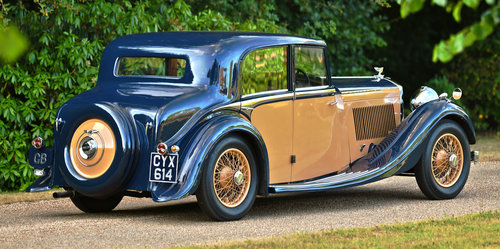 1936 Bentley 4¼-Litre Sports Saloon by Freestone & Webb For Sale (picture 2 of 6)