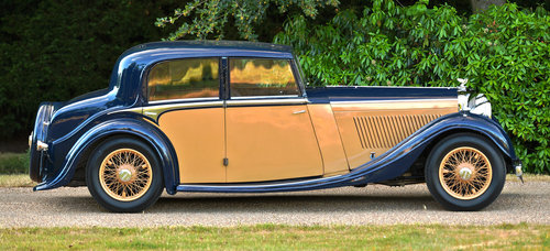 1936 Bentley 4¼-Litre Sports Saloon by Freestone & Webb For Sale (picture 3 of 6)