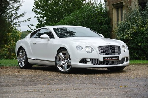 2012 BENTLEY CONTINENTAL GT W12 **MULLINER DRIVING PACK** For Sale (picture 1 of 6)