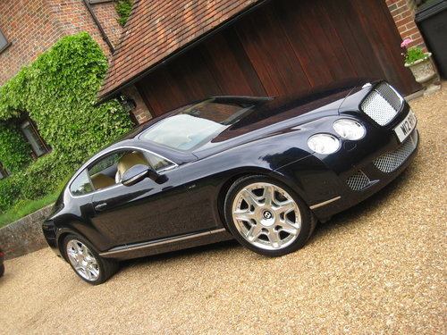 2010 Bentley Continental GT Mulliner With Just 10,000 Miles  For Sale (picture 1 of 6)