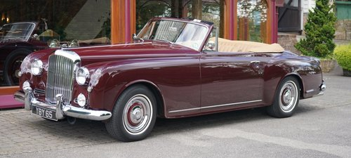 Bentley S1 Continental 1958 Drophead Coupé by Park Ward For Sale (picture 1 of 3)