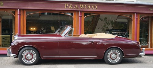 Bentley S1 Continental 1958 Drophead Coupé by Park Ward For Sale (picture 2 of 3)