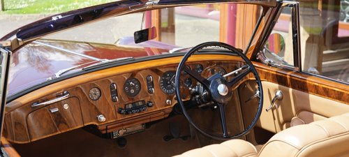 Bentley S1 Continental 1958 Drophead Coupé by Park Ward For Sale (picture 3 of 3)