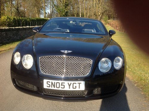 2005 Exceptional Bentley continental GT sale /exchange. For Sale (picture 1 of 6)