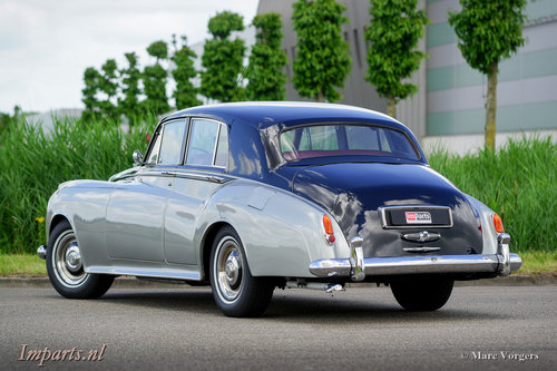 1959 Excellent Bentley S1 Saloon LHD For Sale (picture 5 of 6)