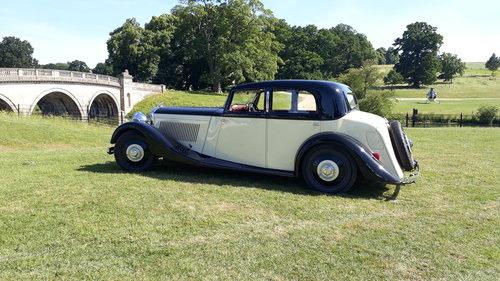 Bentley 3.5 Derby Park Ward 1935 Engine Rebuild Repaint Trim SOLD (picture 1 of 6)