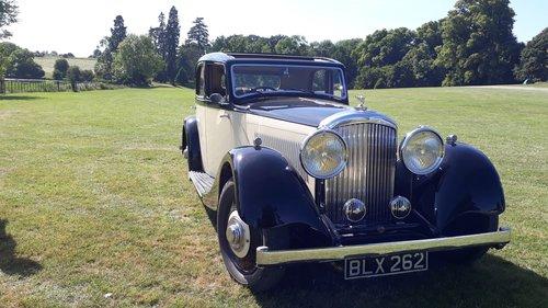Bentley 3.5 Derby Park Ward 1935 Engine Rebuild Repaint Trim SOLD (picture 2 of 6)