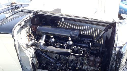 Bentley 3.5 Derby Park Ward 1935 Engine Rebuild Repaint Trim SOLD (picture 6 of 6)