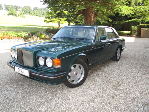 1990 Bentley Turbo R 77000 Fullest documented History. For Sale (picture 1 of 6)