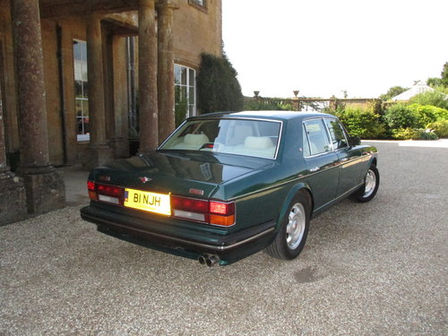 1990 Bentley Turbo R 77000 Fullest documented History. For Sale (picture 2 of 6)