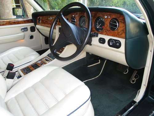 1990 Bentley Turbo R 77000 Fullest documented History. For Sale (picture 3 of 6)