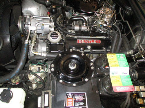 1990 Bentley Turbo R 77000 Fullest documented History. For Sale (picture 5 of 6)