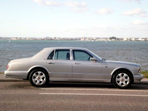 1998 S BENTLEY ARNAGE 4 DOOR AUTO RED LABEL SALOON SOLD (picture 2 of 6)