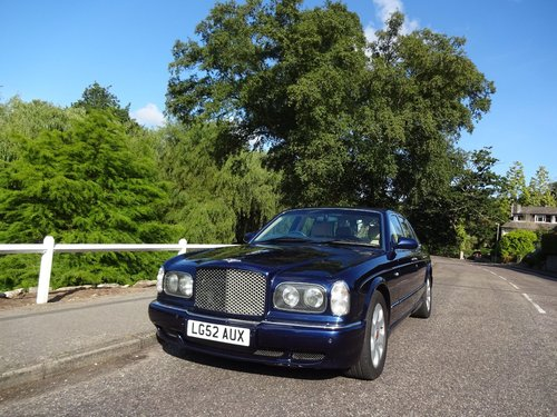 2002 Bentley Arnage R For Sale (picture 1 of 6)