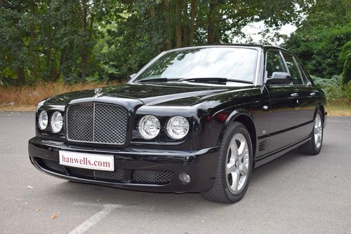 2009/09 Bentley Arnage T Mulliner Level II in Beluga For Sale (picture 1 of 6)