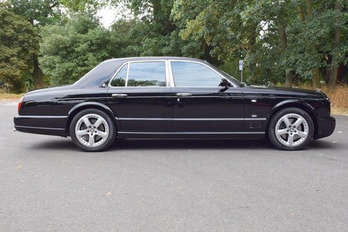 2009/09 Bentley Arnage T Mulliner Level II in Beluga For Sale (picture 4 of 6)