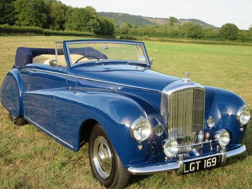 1950 Bentley MK VI Drophead By Abbott of  Farnham For Sale (picture 5 of 6)