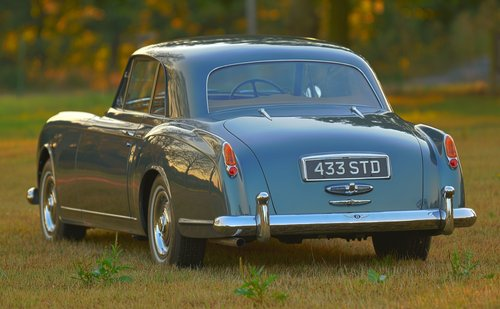 1956 Bentley Continental S1 Park Ward Coupé Motor show car For Sale (picture 3 of 6)