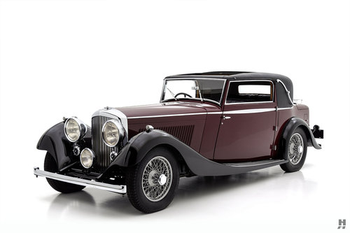 1934 Bentley 3 1/2 Liter Coupe SOLD (picture 1 of 6)