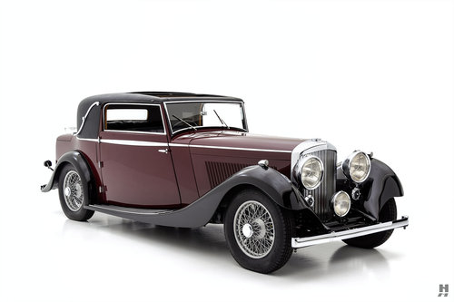 1934 Bentley 3 1/2 Liter Coupe SOLD (picture 2 of 6)