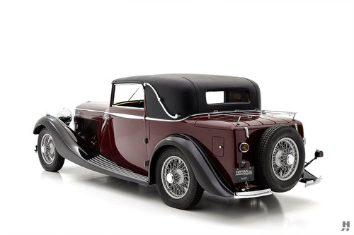 1934 Bentley 3 1/2 Liter Coupe SOLD (picture 3 of 6)