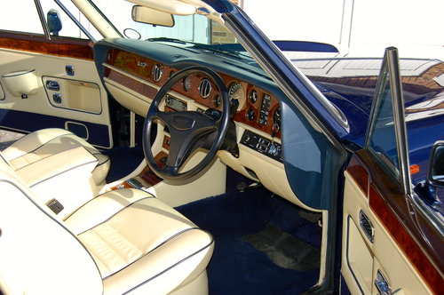 1989 Bentley Continental Convertible SOLD (picture 4 of 6)