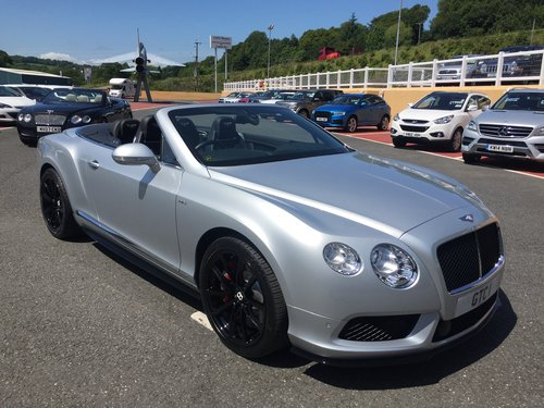 2014 14 BENTLEY CONTINENTAL 4.0 GTC V8 S CONVERTIBLE For Sale (picture 1 of 6)