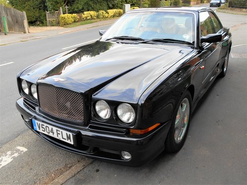 1999 Bentley Continental Sedanca Coupe SC  For Sale (picture 4 of 5)
