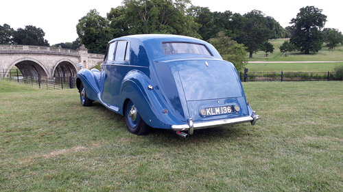 Bentley Mk VI James Young 1949 Duchess Norfolk 56k 3 Owners SOLD (picture 2 of 6)