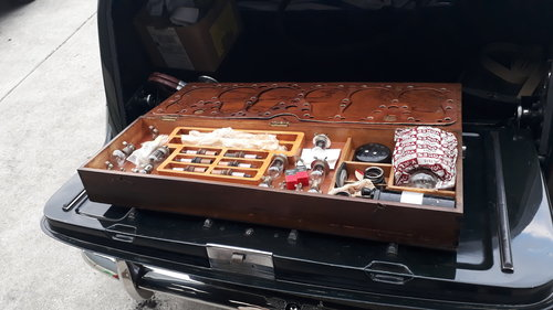 Bentley Mk VI 4.5 Big Bore 1952 60k Engine Rebuild Tool Tray For Sale (picture 4 of 6)