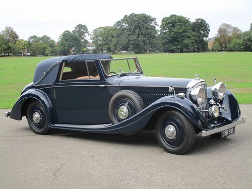 1937 Bentley 4 1/4 Litre Sedanca Coupe by Gurney Nutting For Sale (picture 1 of 1)