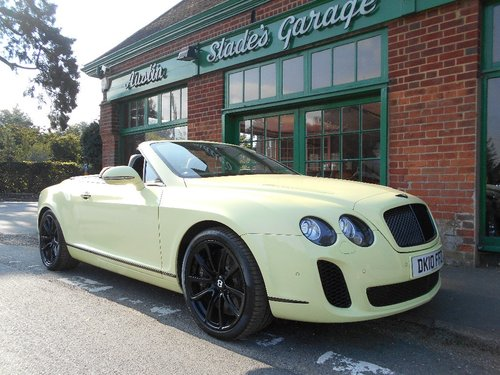 2010 Bentley GTC Supersports  SOLD (picture 2 of 4)