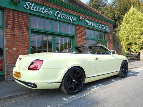 2010 Bentley GTC Supersports  SOLD (picture 3 of 4)