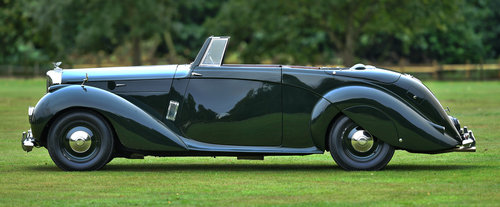 1947 Bentley Mark VI Windovers Drop Head Coupe For Sale (picture 3 of 6)