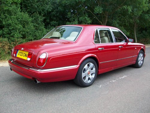 2000  (X Reg) BENTLEY ARNAGE RED LABEL SOLD (picture 5 of 6)