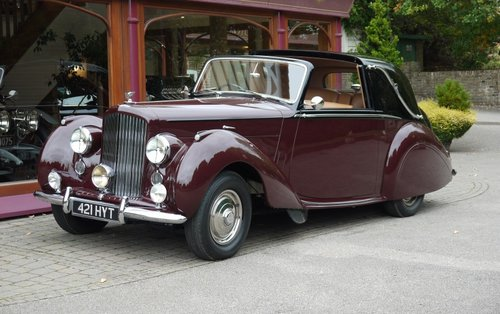 Bentley R-Type 1954 Sedanca Coupe For Sale (picture 1 of 3)