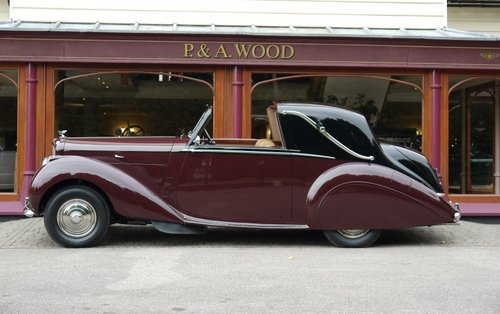 Bentley R-Type 1954 Sedanca Coupe For Sale (picture 2 of 3)